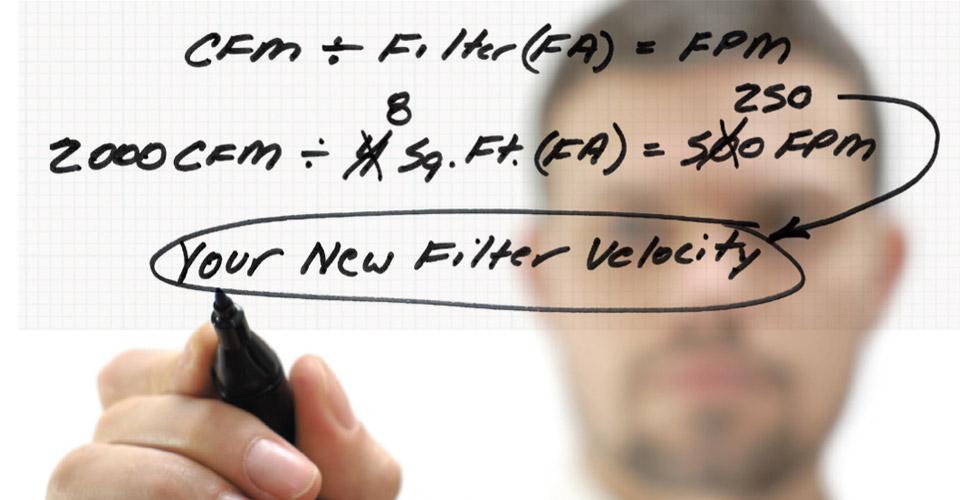 V-Face Filter Frame | Formula for Innovation